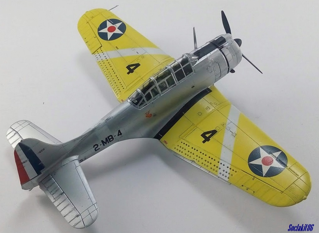 """Douglas SBD-1 Dauntless (Accurate Miniature 1/48) """"The US Marines Corps Golden Wings"""" - Page 4 M4922"""