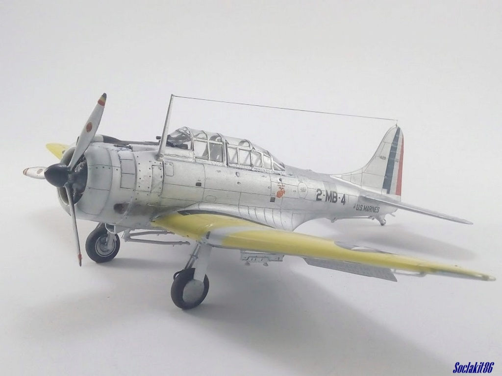 """Douglas SBD-1 Dauntless (Accurate Miniature 1/48) """"The US Marines Corps Golden Wings"""" - Page 4 M5323"""