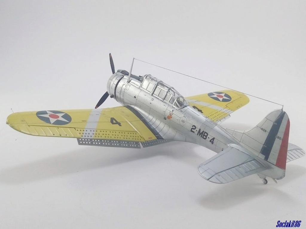 """Douglas SBD-1 Dauntless (Accurate Miniature 1/48) """"The US Marines Corps Golden Wings"""" - Page 4 M5423"""