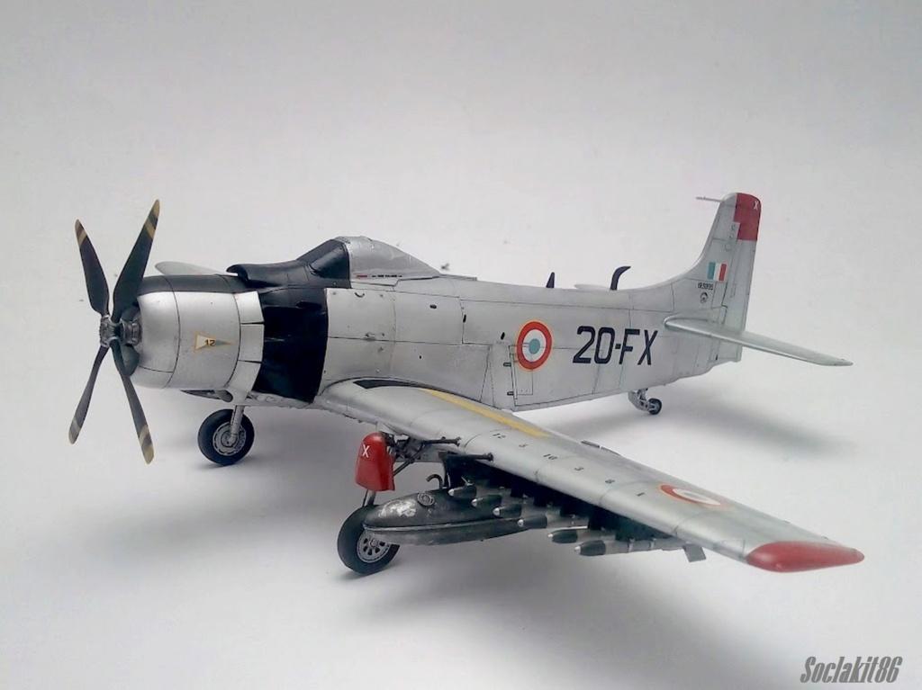AD-4 Skyraider n°123895 /SFERMA 110 de l'EC 3/20  (Tamiya 1/48) - Page 2 M5519