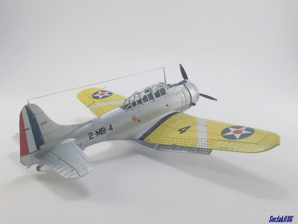 """Douglas SBD-1 Dauntless (Accurate Miniature 1/48) """"The US Marines Corps Golden Wings"""" - Page 4 M5524"""
