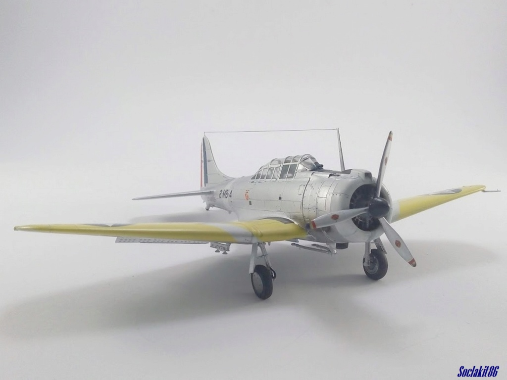 """Douglas SBD-1 Dauntless (Accurate Miniature 1/48) """"The US Marines Corps Golden Wings"""" - Page 4 M5624"""