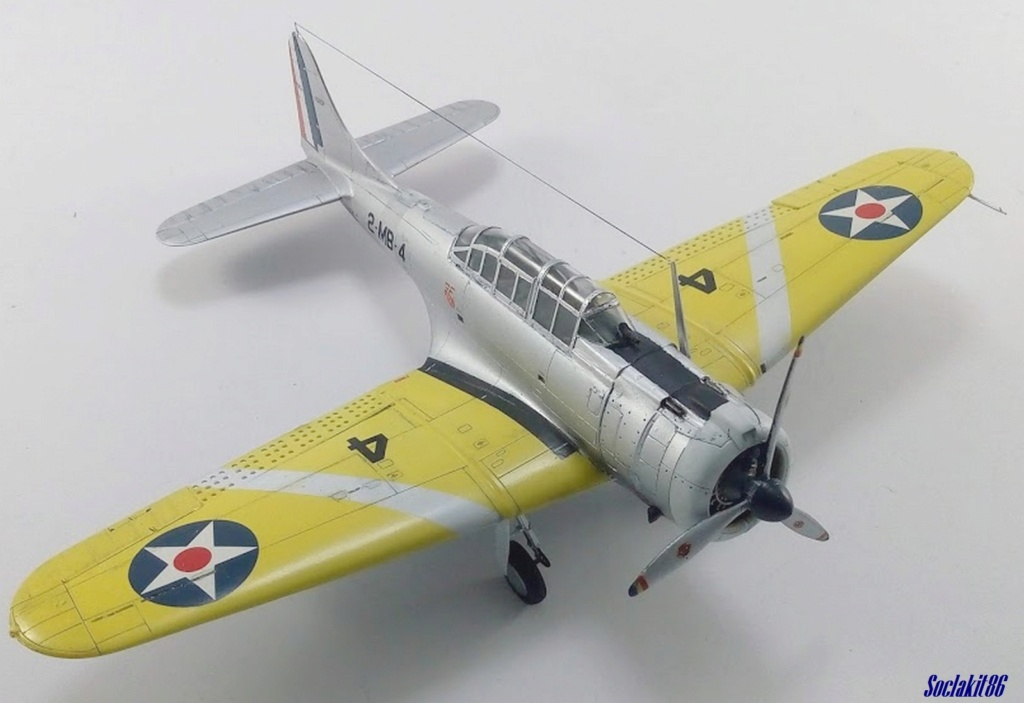 """Douglas SBD-1 Dauntless (Accurate Miniature 1/48) """"The US Marines Corps Golden Wings"""" - Page 4 M5725"""
