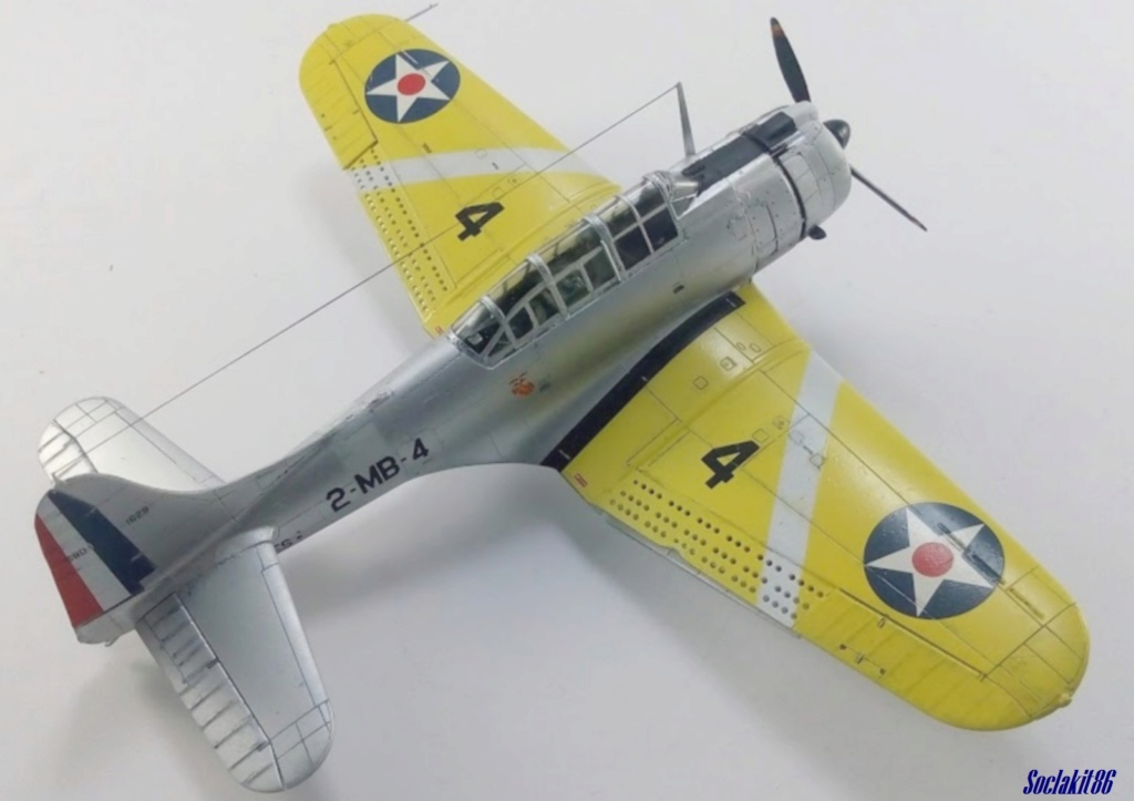 """Douglas SBD-1 Dauntless (Accurate Miniature 1/48) """"The US Marines Corps Golden Wings"""" - Page 4 M5821"""