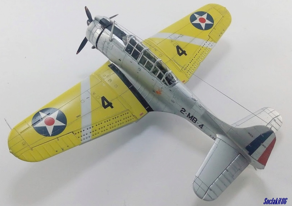 """Douglas SBD-1 Dauntless (Accurate Miniature 1/48) """"The US Marines Corps Golden Wings"""" - Page 4 M5921"""