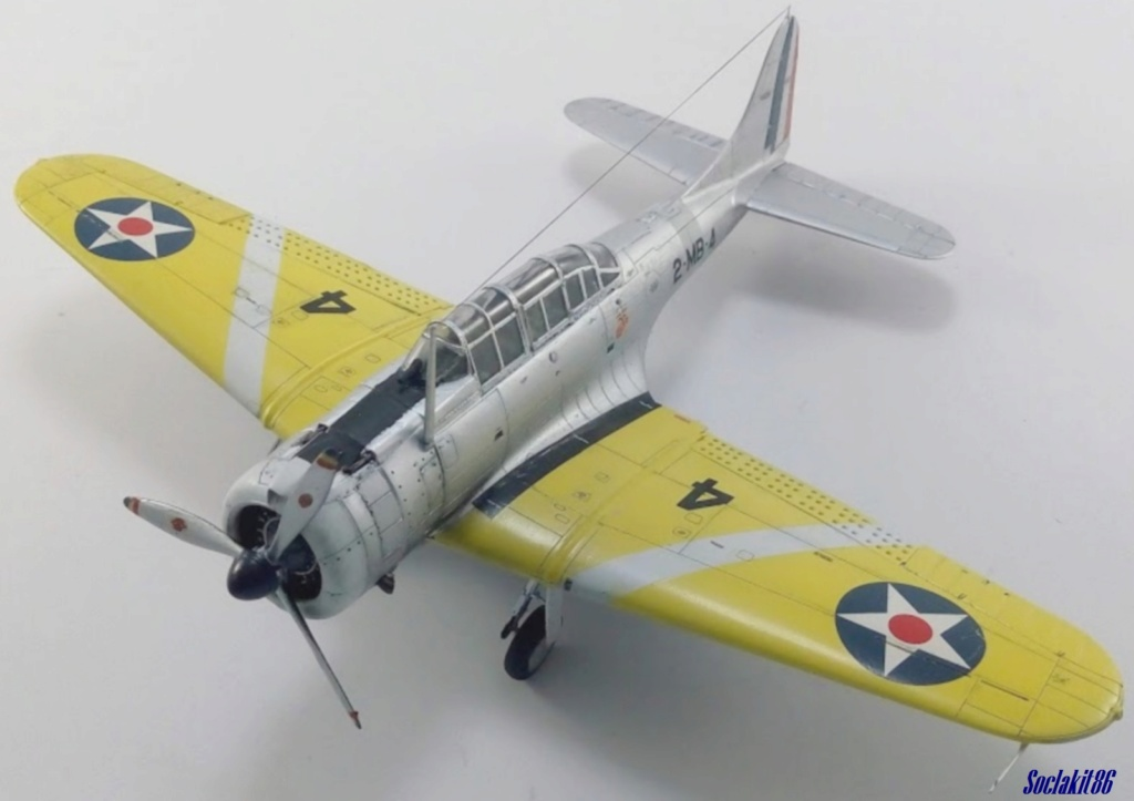 """Douglas SBD-1 Dauntless (Accurate Miniature 1/48) """"The US Marines Corps Golden Wings"""" - Page 4 M6017"""