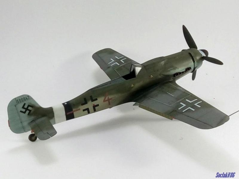 Focke Wulf FW 190D-9 W.Nr. 500647 du 7/JG-26 - Hustedt 1945 (Revell 1/32) - Page 4 M6123