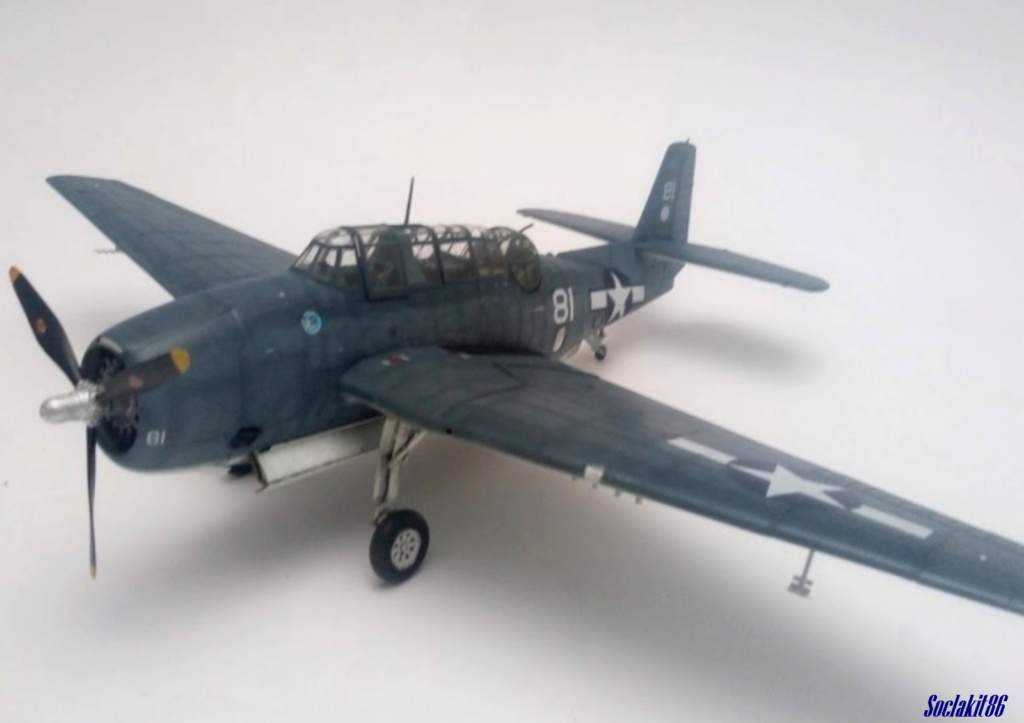Grumman TBF-1C Avenger (Hobby Boss 1/48) - Page 4 M7612