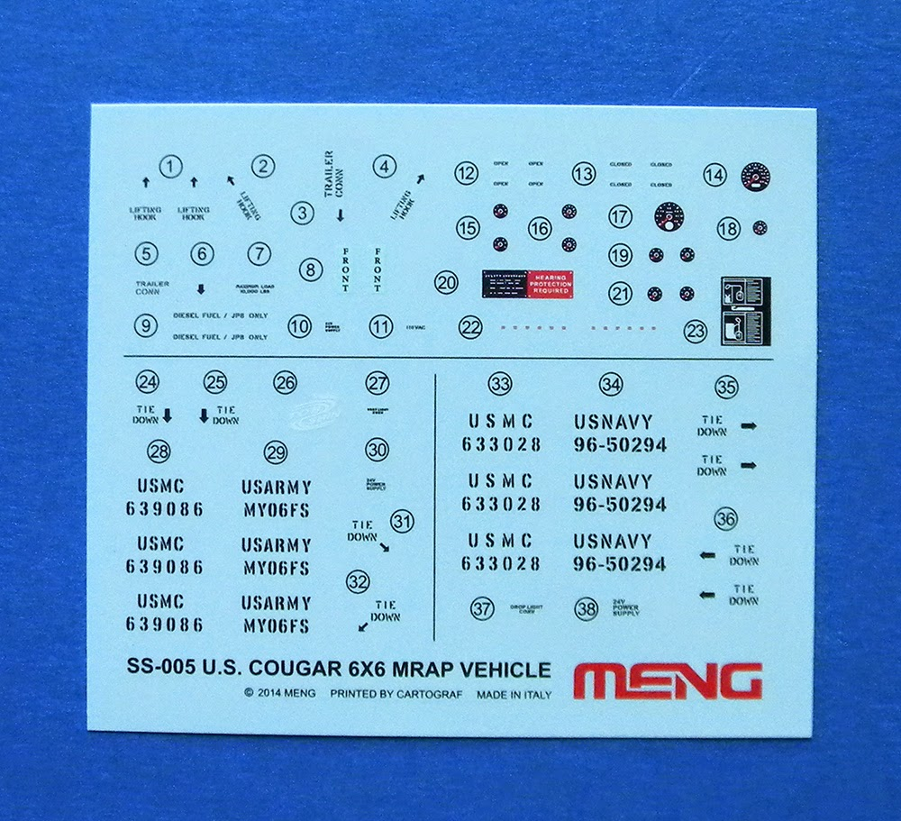 U.S. Cougar 6x6 M.R.A.P ( Meng 1/35 réf SS.005 )  Meng_s37