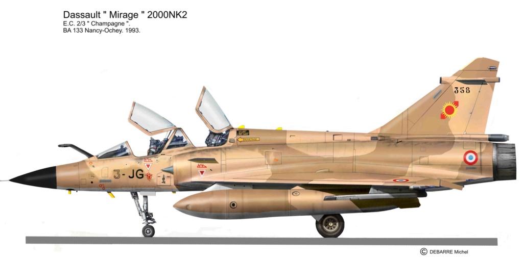 "Rafale N n°215 en configuration ""Super Nounou"" --> terminé  Mir-2010"