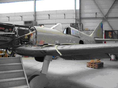 visite du petit musée de l'aéronaval de Rochefort Museea10