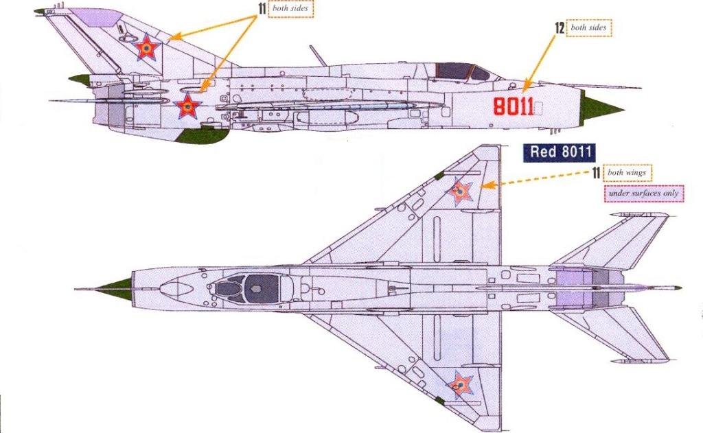Défi passion : MiG-21 RFMM Izdeliye 94A Fishbed F ( Eduard + Bidouille 1/48 ) - Page 2 N_500810