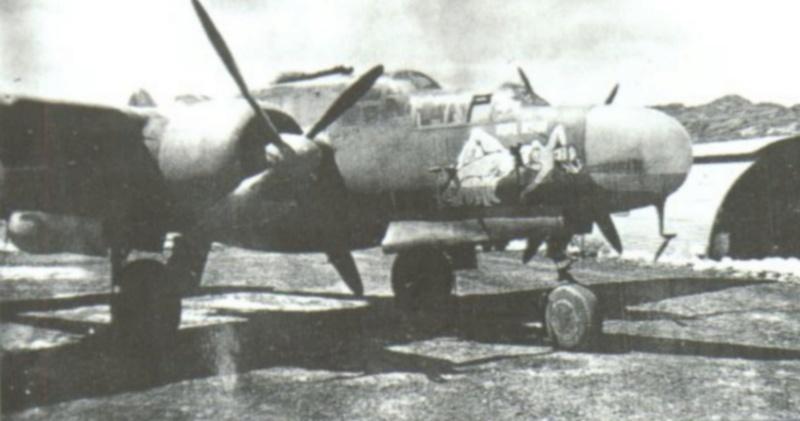 "Northrop P-61A s.n 425526 ""Mightie Mission"" du 6th NFS - Saipan - été 44 (hobby boss 1/48) Nighte12"