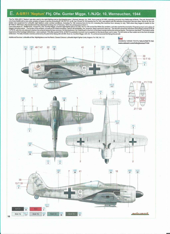 revell 1/32 focke wulf 190 a-8 nightfighter  Numzor11