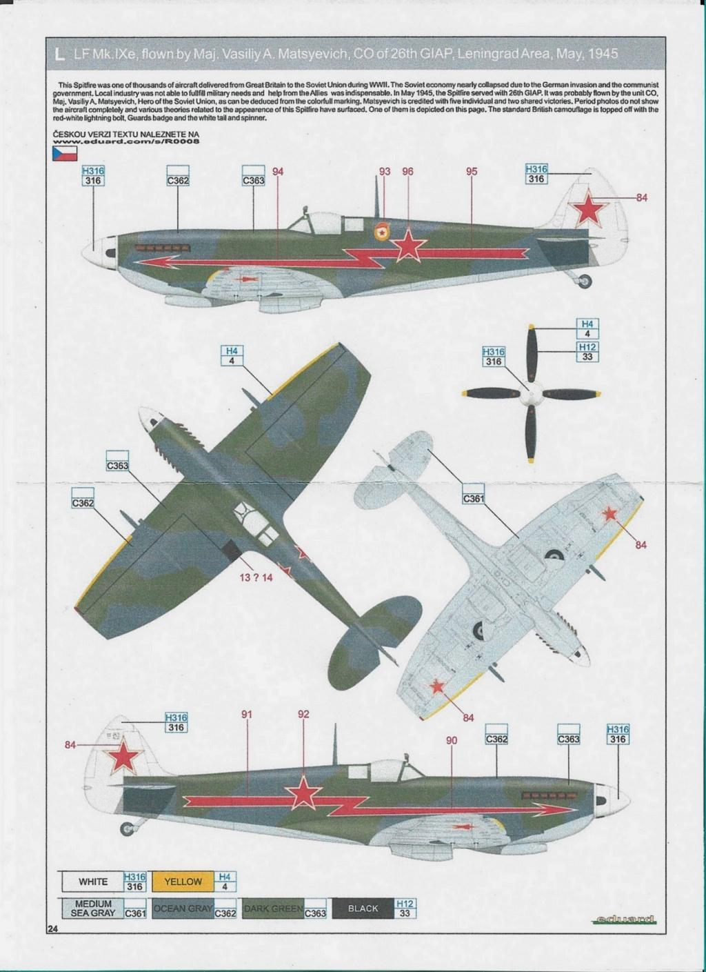 Spitfire LF-IXe with Soviet Pilot & Ground Crew 1/48 ( ICM 48803 ) Numzor12
