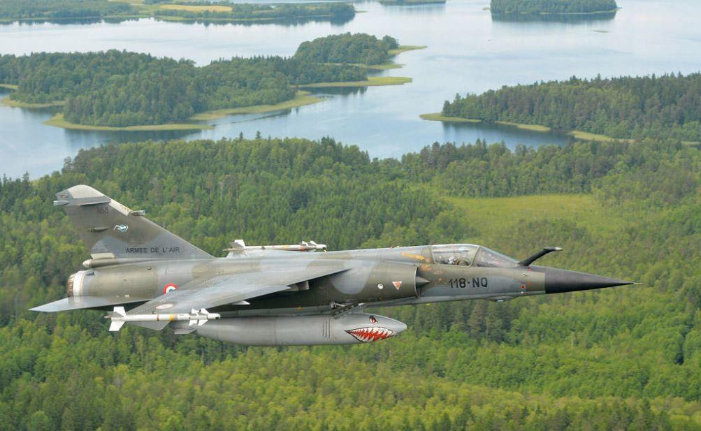 Mirage F-1 CR n°658 / 118-NQ (Kitty Hawk 1/48) opex Baltic Air Policing 2013 ... Ob_12411