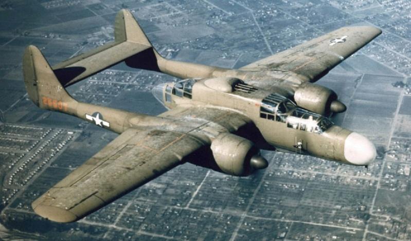"Northrop P-61A s.n 425526 ""Mightie Mission"" du 6th NFS - Saipan - été 44 (hobby boss 1/48) P-61_t10"