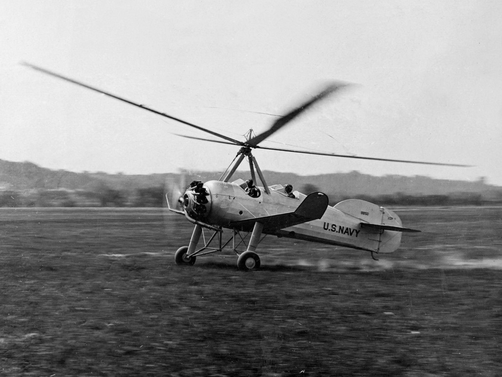 "Autogire Pitcairn XOP-1 ""US Navy"" (Williams Bros Inc - 1/48  réf 48-161 )  Pitcai11"