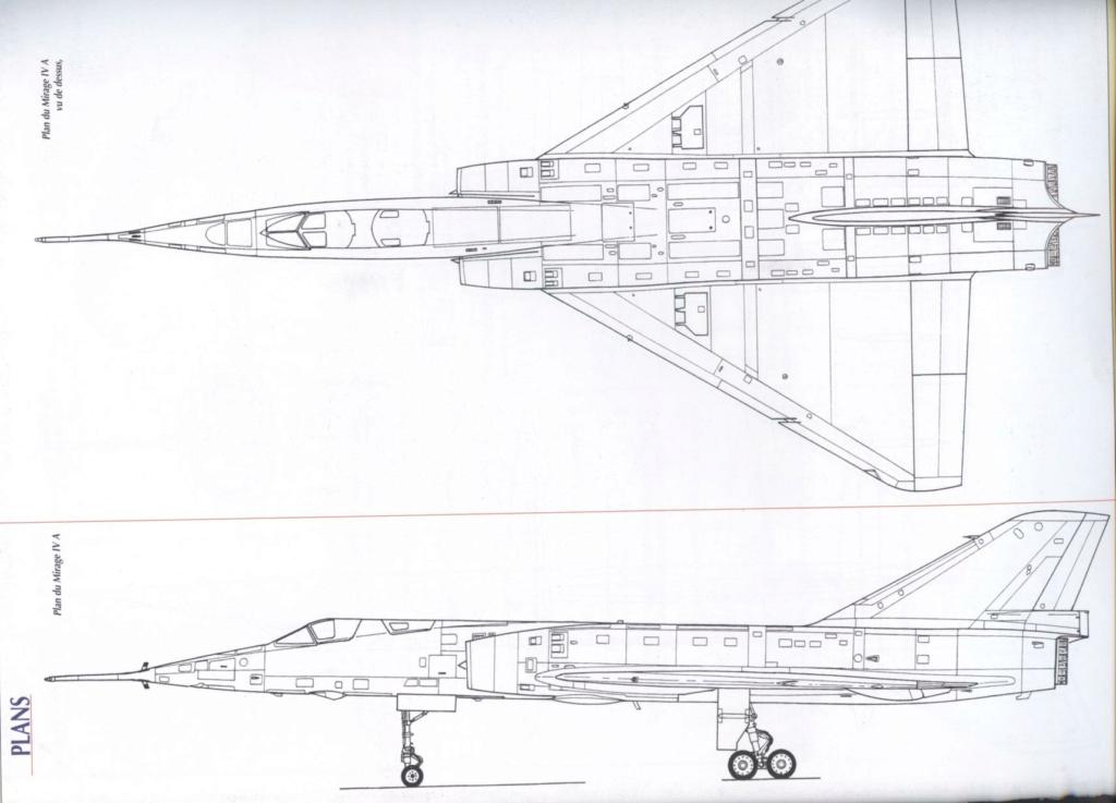 """Fil Rouge 2021 * Mirage IV A n°31/BD """"Opération Tobus """" (Heller 1/48)  Plan_m10"""