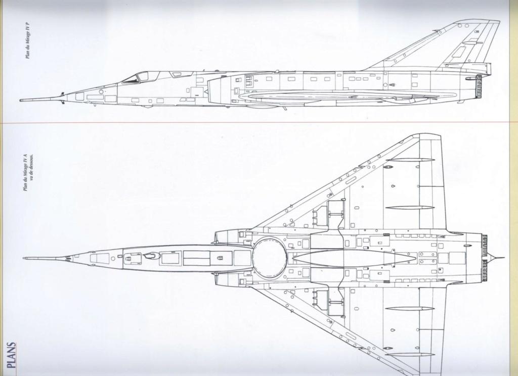 """Fil Rouge 2021 * Mirage IV A n°31/BD """"Opération Tobus """" (Heller 1/48)  Plan_m11"""