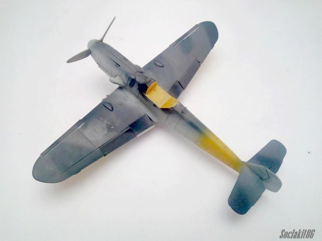 Bf 109 G-6 Hongrois V-8+71 du l'escadron de chasse 4/101 ( Octobre 1944) Hasegawa 1/48 +Décals Aviation USK R0910