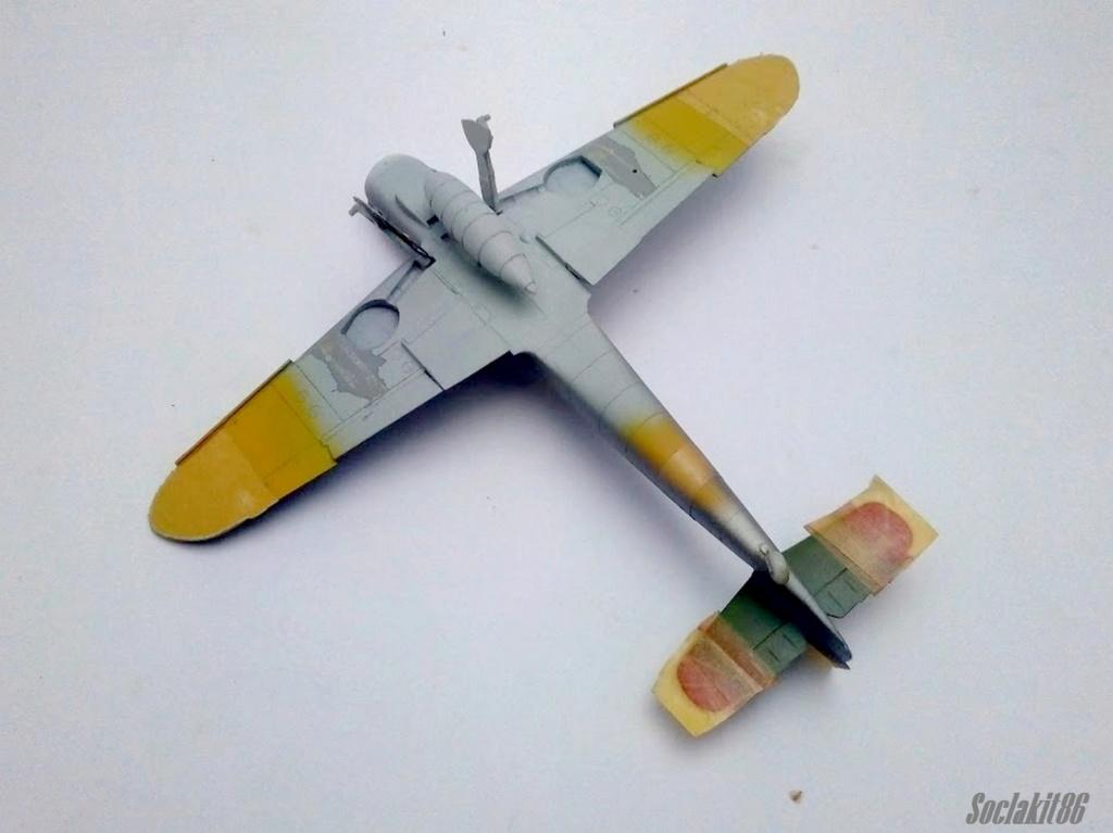 Bf 109 G-6 Hongrois V-8+71 du l'escadron de chasse 4/101 ( Octobre 1944) Hasegawa 1/48 +Décals Aviation USK R1410