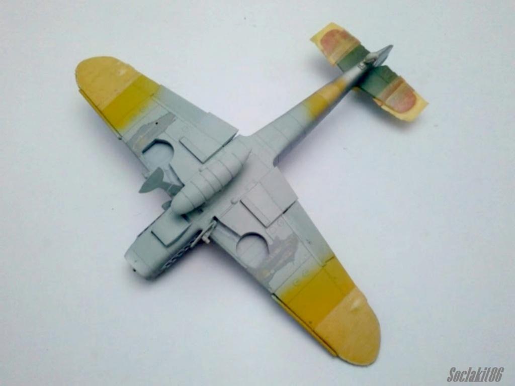 Bf 109 G-6 Hongrois V-8+71 du l'escadron de chasse 4/101 ( Octobre 1944) Hasegawa 1/48 +Décals Aviation USK R1510