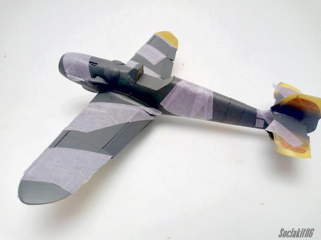 Bf 109 G-6 Hongrois V-8+71 du l'escadron de chasse 4/101 ( Octobre 1944) Hasegawa 1/48 +Décals Aviation USK R1810