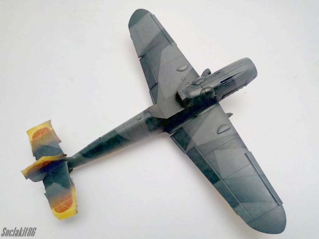 Bf 109 G-6 Hongrois V-8+71 du l'escadron de chasse 4/101 ( Octobre 1944) Hasegawa 1/48 +Décals Aviation USK R2110