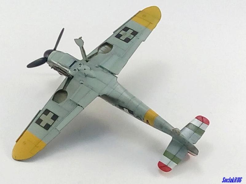 Bf 109 G-6 Hongrois V-8+71 du l'escadron de chasse 4/101 ( Octobre 1944) Hasegawa 1/48 +Décals Aviation USK - Page 2 R3210