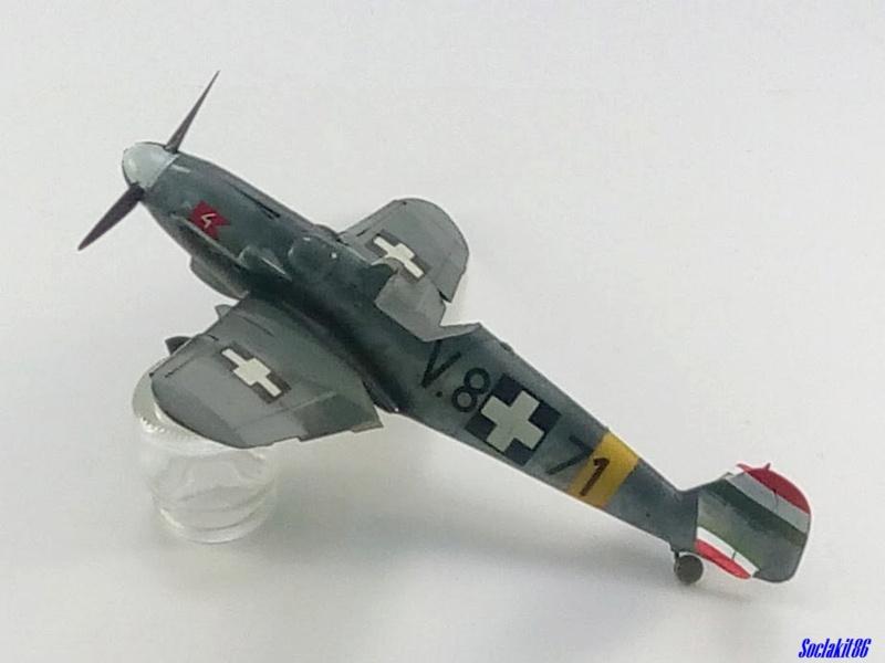 Bf 109 G-6 Hongrois V-8+71 du l'escadron de chasse 4/101 ( Octobre 1944) Hasegawa 1/48 +Décals Aviation USK - Page 2 R3310