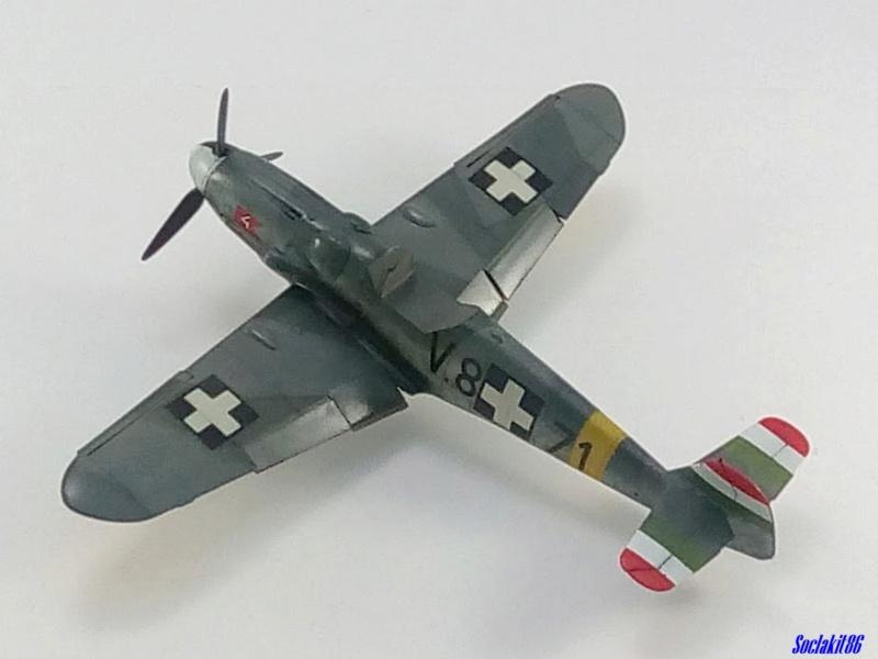 Bf 109 G-6 Hongrois V-8+71 du l'escadron de chasse 4/101 ( Octobre 1944) Hasegawa 1/48 +Décals Aviation USK - Page 2 R3510