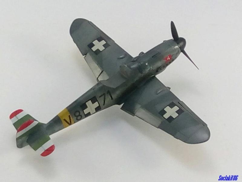 Bf 109 G-6 Hongrois V-8+71 du l'escadron de chasse 4/101 ( Octobre 1944) Hasegawa 1/48 +Décals Aviation USK - Page 2 R3610