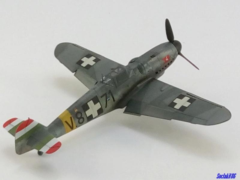Bf 109 G-6 Hongrois V-8+71 du l'escadron de chasse 4/101 ( Octobre 1944) Hasegawa 1/48 +Décals Aviation USK - Page 2 R3910