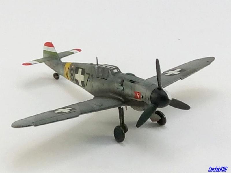 Bf 109 G-6 Hongrois V-8+71 du l'escadron de chasse 4/101 ( Octobre 1944) Hasegawa 1/48 +Décals Aviation USK - Page 2 R4010