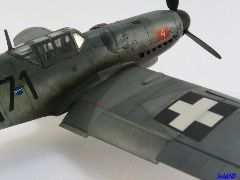 Bf 109 G-6 Hongrois V-8+71 du l'escadron de chasse 4/101 ( Octobre 1944) Hasegawa 1/48 +Décals Aviation USK - Page 2 R4610