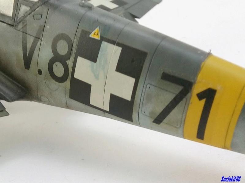 Bf 109 G-6 Hongrois V-8+71 du l'escadron de chasse 4/101 ( Octobre 1944) Hasegawa 1/48 +Décals Aviation USK - Page 2 R4710