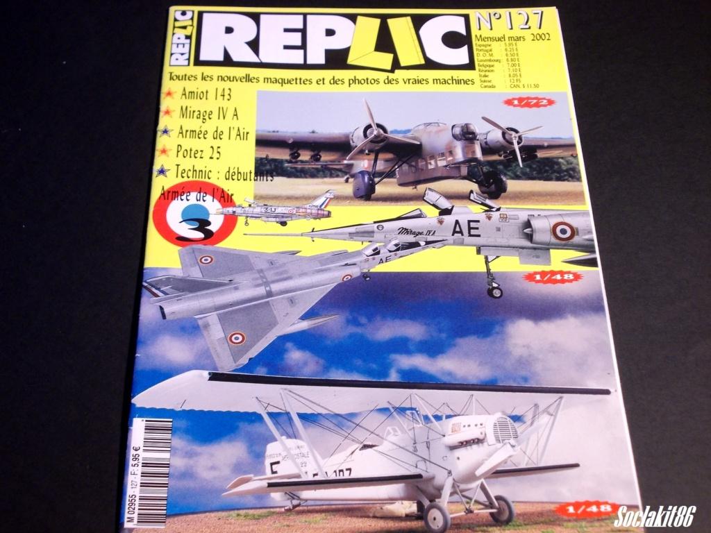 """Fil Rouge 2021 * Mirage IV A n°31/BD """"Opération Tobus """" (Heller 1/48)  Rzopli14"""