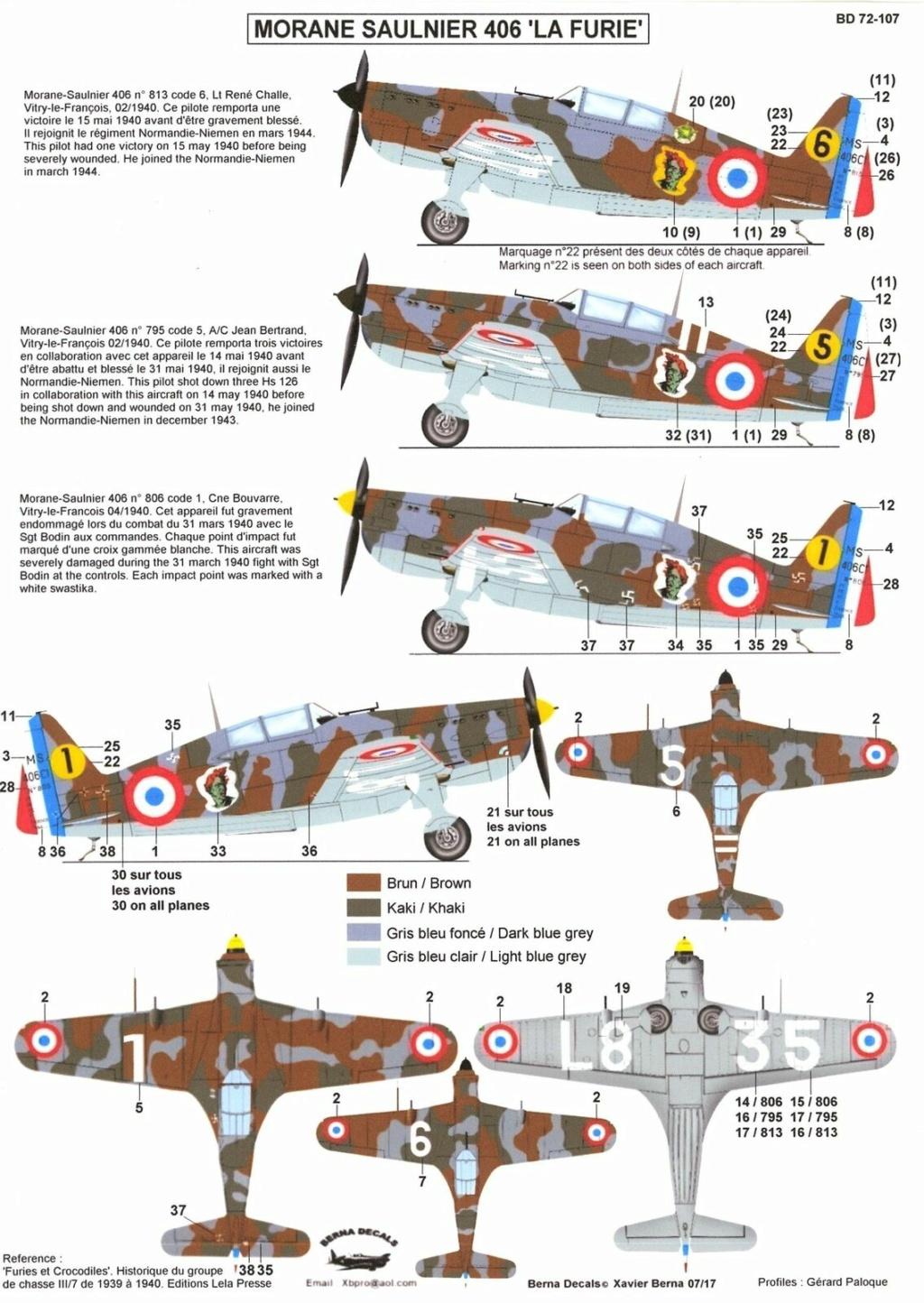 Morane Saulnier MS 406 (Azur /AB Toys 1/32) + décals Kagero Top Colors 17 S-l16025