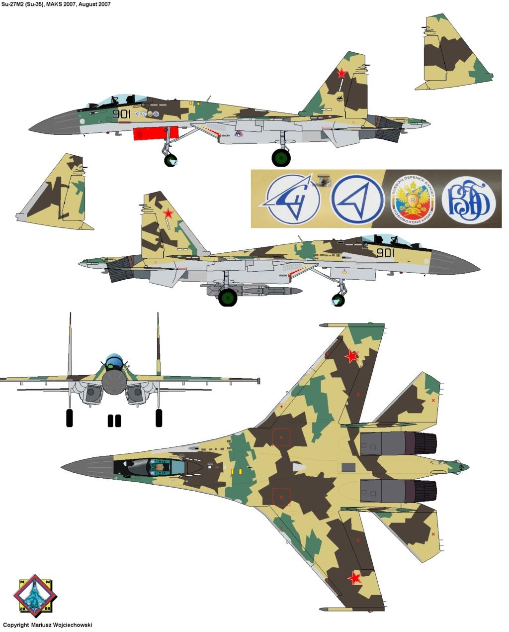 Les géants des airs : Northrop YB-49 [Italeri 1/72] - Page 3 Su27m211