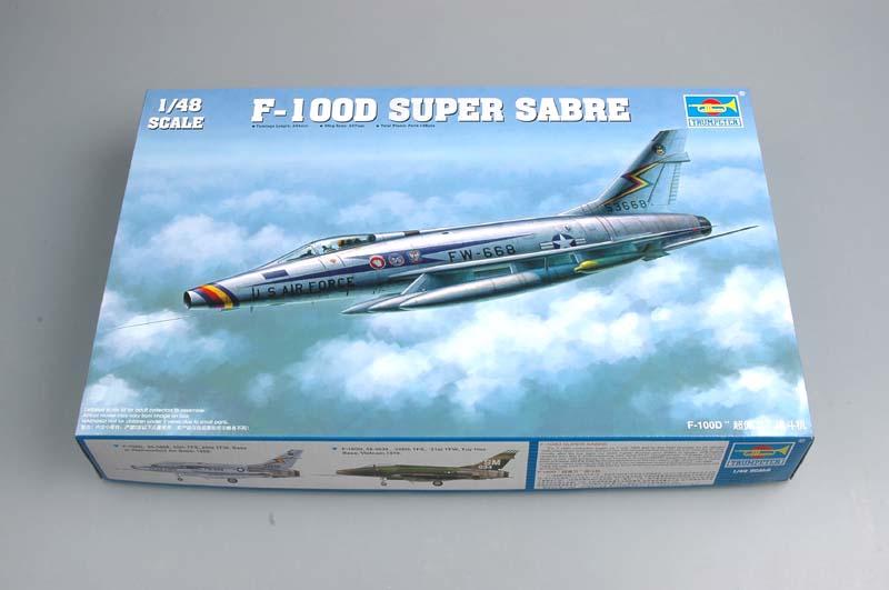 N.A. F-100 D Super Sabre (Trumpeter 1/48 ) Tru28310