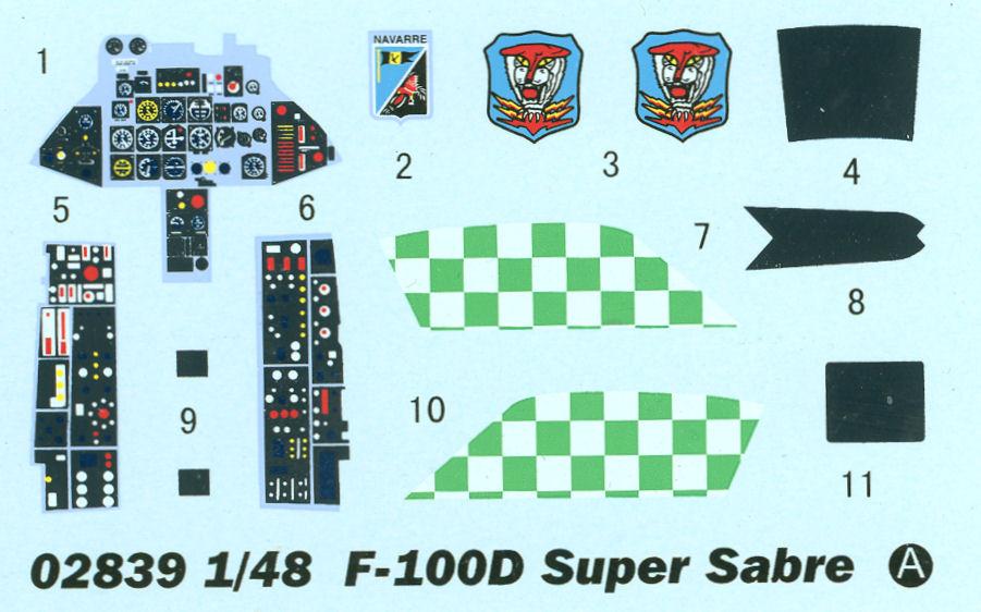 N.A. F-100 D Super Sabre (Trumpeter 1/48 ) Tru_2817