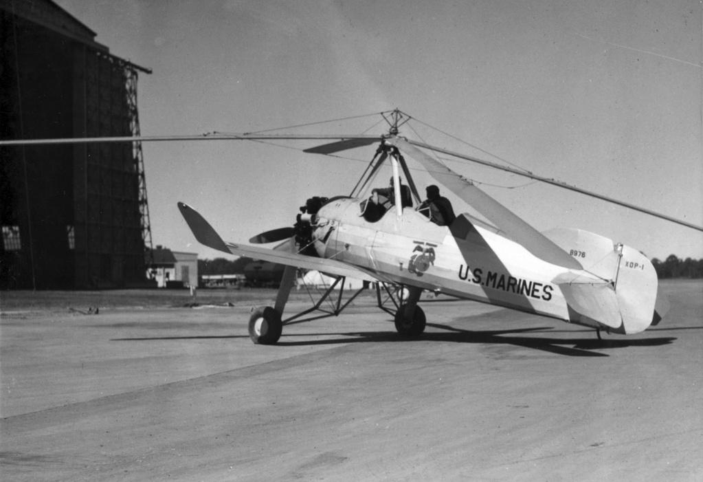 "Autogire Pitcairn XOP-1 ""US Navy"" (Williams Bros Inc - 1/48  réf 48-161 )  Us_mar12"