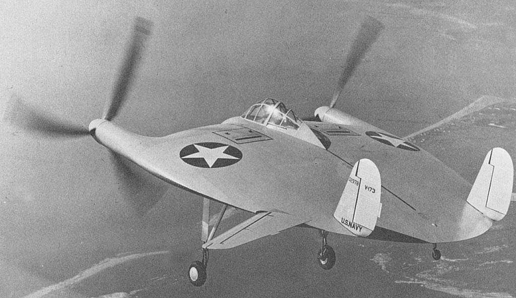 """V-173 """"Flying Pancake"""" (Sword 1/48) Vought10"""