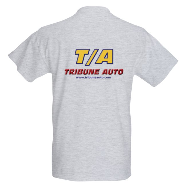 T-SHIRT TRIBUNE AUTO Back15