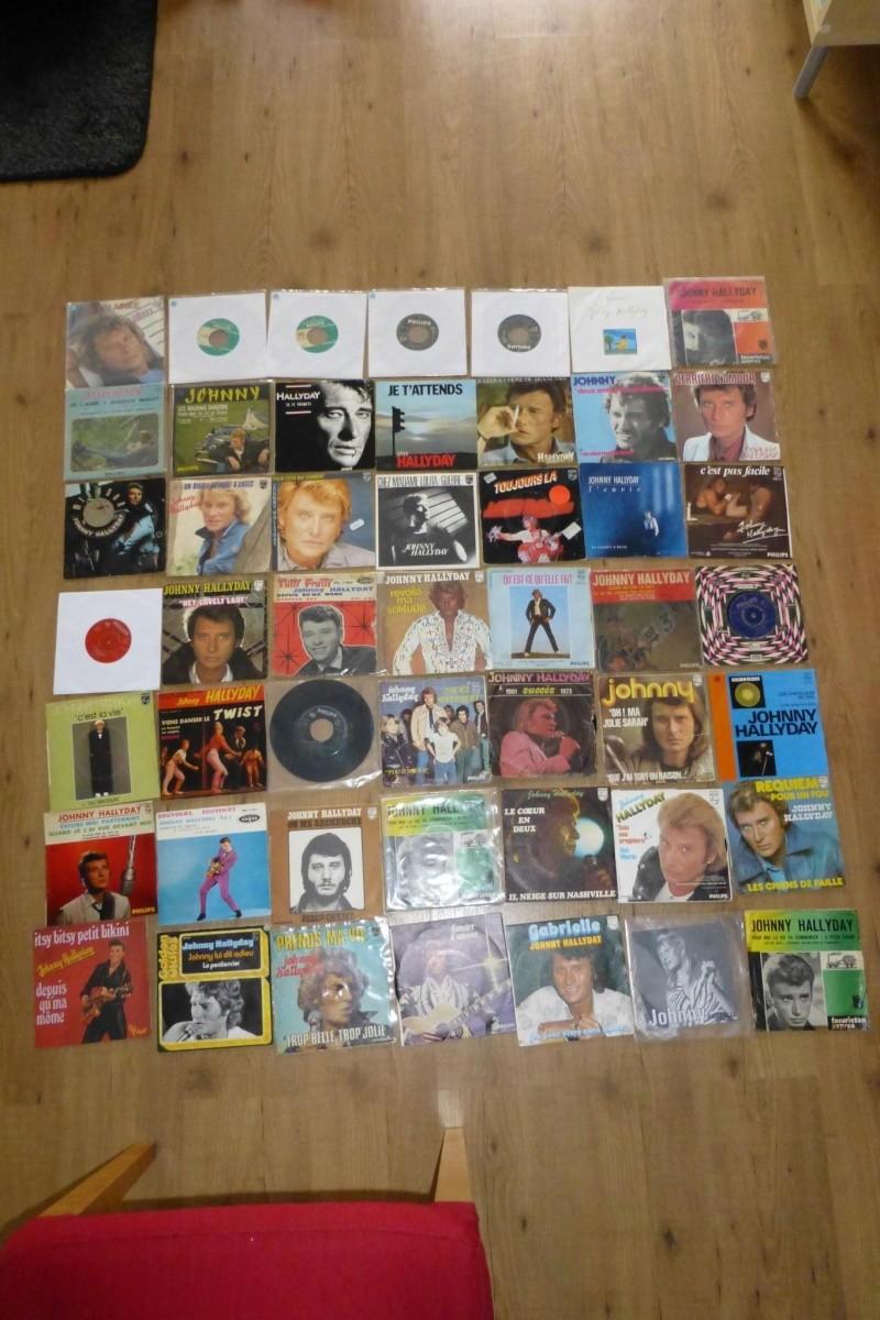 """Mon collection vinyl 7"""" jusque a maintenant. Vinyls11"""