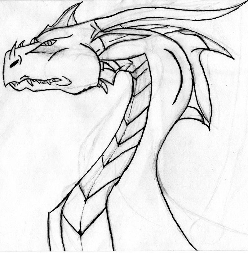 Des Dragons Tout Sa Au Crayon A Papier Page 2
