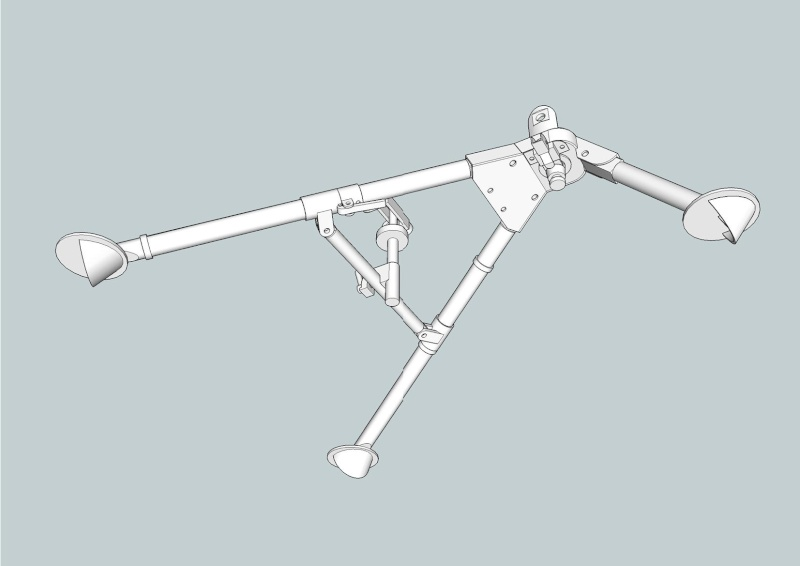 fabrication d'un trépied M2 pour browning cal.30 Trepie11