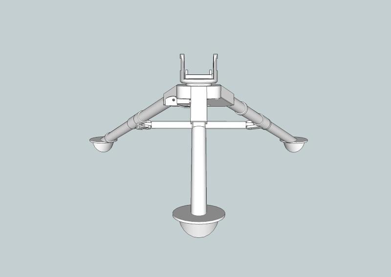 fabrication d'un trépied M2 pour browning cal.30 Trepie12