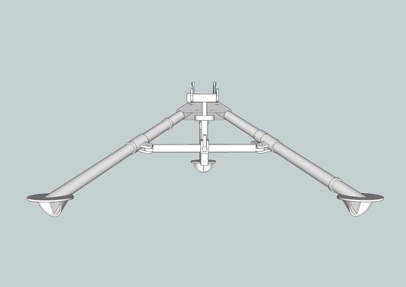 fabrication d'un trépied M2 pour browning cal.30 Trepie13